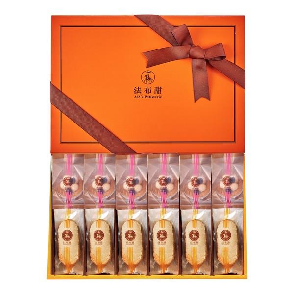 法布甜豆鳳禮盒-養生堅果塔+法式鳳梨酥